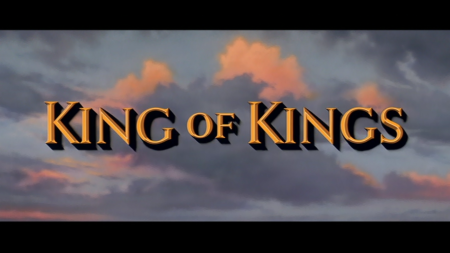 King of Kings Title Screen